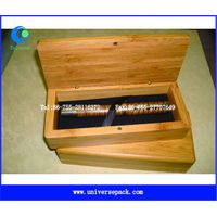 Factory  wholesale gift bamboo  box with magnetic thumbnail image