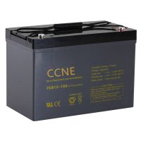 12v 100ah deep cycle battery sealed rechargeable vrla battery for electric power vehicles