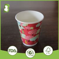 colorful printing paper cup