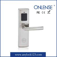 Economical Zinc Alloy Security Hotel Card Door Lock