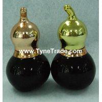 calabash shape glass essential oil bottles
