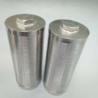 Stainless steel water well filter tube / Johnson screen