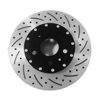 "Premium Aluminum Brake ROTORs 15"" Front -Slot&Hole Type"