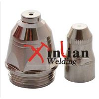 Electrode and Nozzle for Plasma Cutting