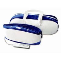 Two Motor Vibration Massage Belt with Heat