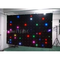 2*3m LED curtain display RGB star curtain with 5050 SMD lamp