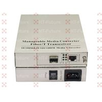 2 Fiber Port and 2 RJ45 Port 1000M Industrial Fiber Media Converter