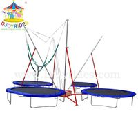 New outdoor bungee trampoline