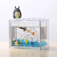Aquarium decoration accessories betta fish tanks with wholesale price thumbnail image