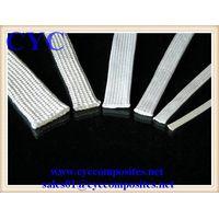 High Silica fiberglass braided sleeve