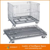 Heavy Duty Collapsible Storage Wire Containers