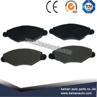 Auto Spare Parts Car disc brake pad for PEUGEOT206 D1143