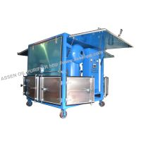 High efficiency dehydration unit for transformer oil