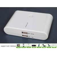 12000mah Power Bank with Dual USB Output for iphone/ipad/Samsung/Nokia/HTC