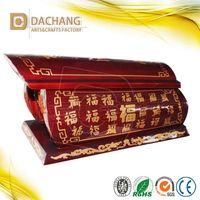 hot-sell chinese style hardwood human cremation urn thumbnail image