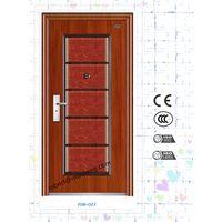 Main Entrance Exterior Cheap Steel Security Door Design thumbnail image