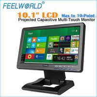 "10.1""High quality new LCD Panel wide angle HDMI VGA VIDEO AUDIO TFT LCD Touch Monitor(FW101CT)"