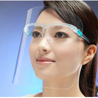 Protective face shield convenient spectacle frame full face protector thumbnail image