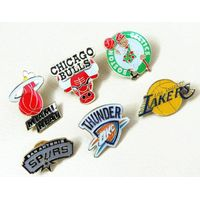 all teams American basketball teams NBA badge brooch pin