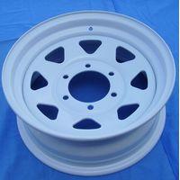 15x5 pattern 5x139.7 Painted Trailer Wheel Rim