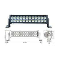 Led worklight, 72w, 10-30V DC aluminium 24pcs 3W light bar for jeep, SUV,ATV driving light  (Led wor thumbnail image