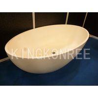 Corian Artificial Marble Oval Bathtub