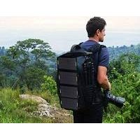 14W 5V Folding Solar Panel Charger Bag for Phone/iPad/Tablet Dual USB thumbnail image