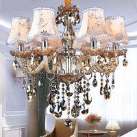 Modern Chandelier Lighting K9 lustres de cristal moderne lustre for home lighting Bedroom Kitchen thumbnail image