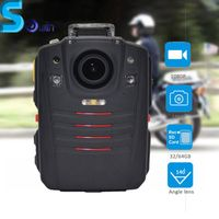 Ambarella A7 chipset 3900mAh police body worn camera with GPS/WIFI