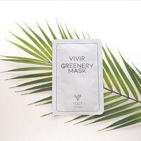 VIVIR GREENERY MASK , Moisturizing Mask Pack that adds vitality made in Korea thumbnail image