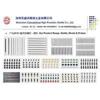 precision shafts, micro axle, rivet, brace, standard component, connector etc.