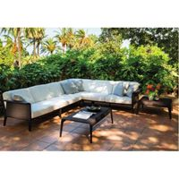 Low Price Patio Modern 7 Seater Sofa Set SFM3150720-06