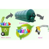 Pyrolysis plant convert plastic to oil
