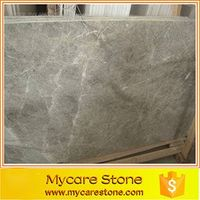 Italy Gray marble floor tile for bathroom/ living room gray floor tiles