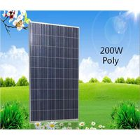 High efficiency popular 200W poly solar panel with competitive price