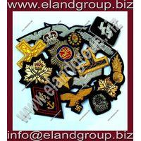 Hand Embroidery Bullion badges Supplier thumbnail image