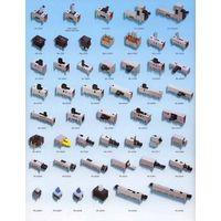 Tact Switch, Slide Switch, Push Switch, Micro Switch, Hook Switch, Leaf Switch, Toggle Switch, Rocke