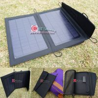 7 Watt Portable Solar Charger Pack Bag for Mobile Smartphone