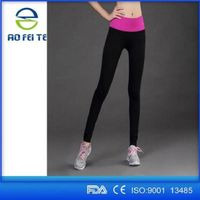 Polyester fast dry breathable women leggings