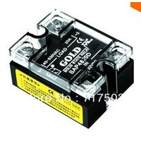 Free shipping Single phase AC solid state relay SAP4820D input 3-32VDC 20A ssr DC to AC relay