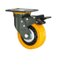 View larger image Swivel Top Plated Fixed Type Super Heavy Duty Casters Industrial Castors Swivel T