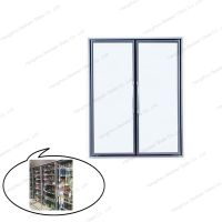 New Design Aluminum Cold Room Glass Door for Display thumbnail image
