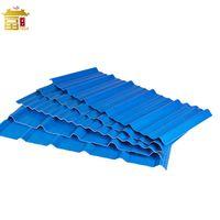 Light Weight PVC Corrugated Sheet ASA Plastic Roof Tiles For Warehouse thumbnail image