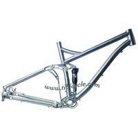 Suspension Titanium Bike Frame HLS002