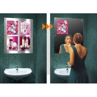 multi-graphic magic mirror light box with good quality