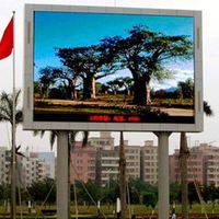 outdoor full color led display with p16