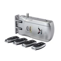 WAFU Keyless Entry Lock Wireless Smart Remote Lock of 433MHZ with 4 Remote Keys