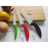 China colored ceramic kitchen knife set