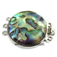 30mm pretty shell jewelry clasps