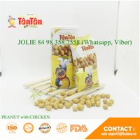 Coated PEANUT with CHICKEN FLAVOR Kid Officer's Choice Snack (Tan Tan Vietnam, Jolie 84983587558)